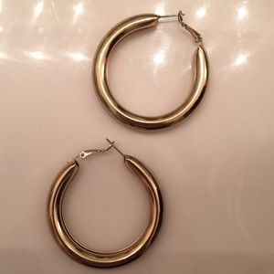 """H&M """"Gold"""" Chunky Hoops"""